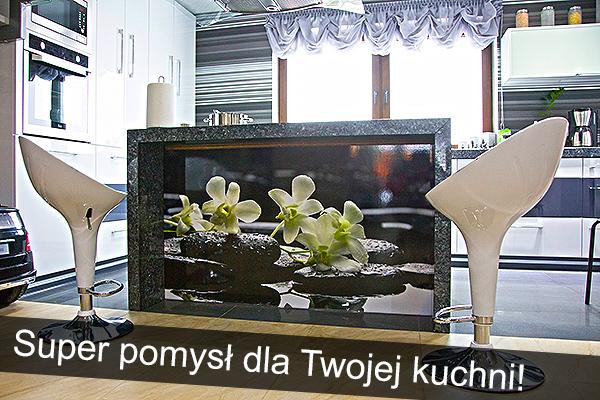 wydruk fotograficzny pod szkłem zabudowa kuchenna wydruk dowolnej fotografii pod szkłem